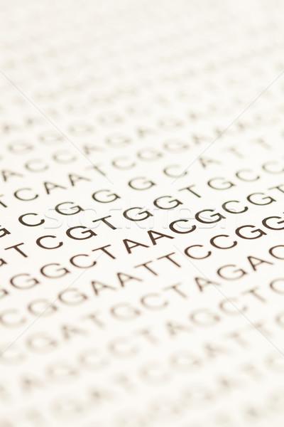 List of dna testing letters Stock photo © wavebreak_media