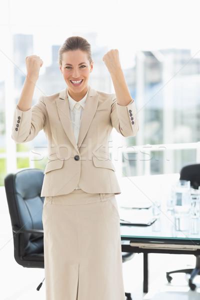 деловая женщина служба портрет молодые ярко Сток-фото © wavebreak_media