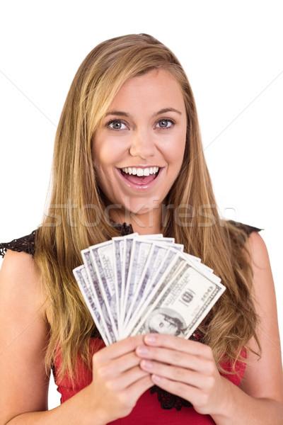 Güzel nakit beyaz para Stok fotoğraf © wavebreak_media