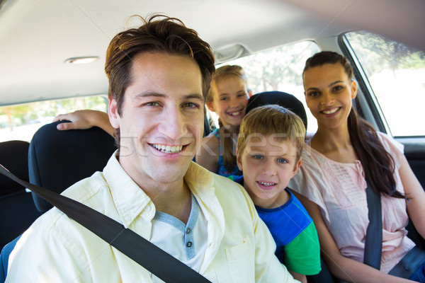 Happy family on a road trip Stock photo © wavebreak_media
