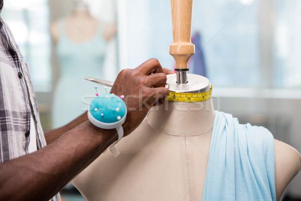 Erkek moda tasarımcı manken eller Stok fotoğraf © wavebreak_media