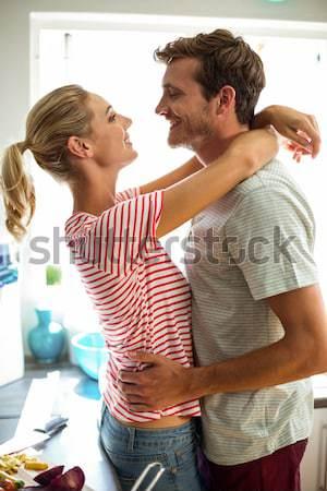 Cute couple spending time together  Stock photo © wavebreak_media