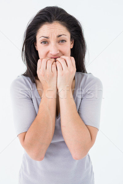 Depressed woman looking at camera Stock photo © wavebreak_media