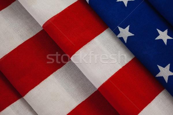 Close-up of an American flag Stock photo © wavebreak_media