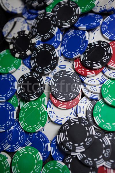 Casino fişi kumarhane başarı oynamak gülen Stok fotoğraf © wavebreak_media