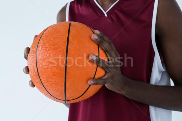 Speler basketbal witte sport Stockfoto © wavebreak_media