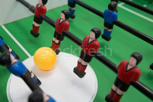 Table soccer game Stock photo © wavebreak_media