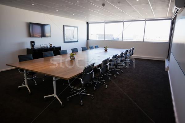 Interior of empty modern meeting room Stock photo © wavebreak_media