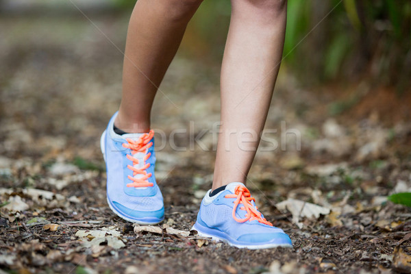 女性 ジョギング 公園 フィート スポーツ を実行して ストックフォト © wavebreak_media