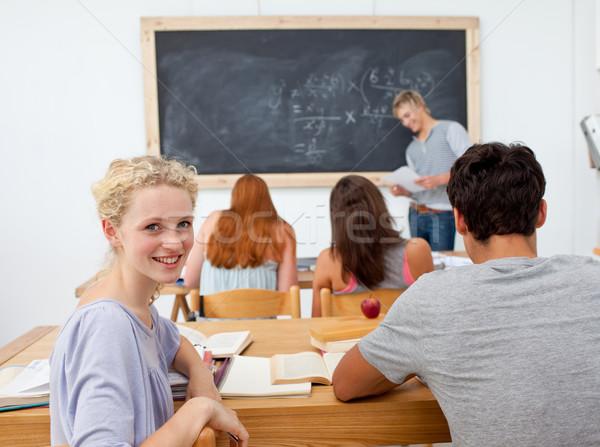 Nastolatków studia liceum edukacji szkoły grupy Zdjęcia stock © wavebreak_media