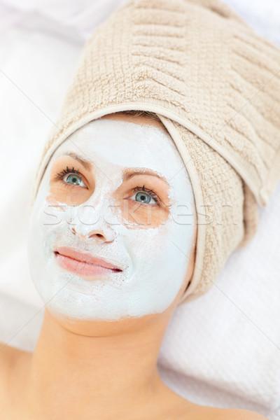 Slack female having a massage in a spa  Stock photo © wavebreak_media