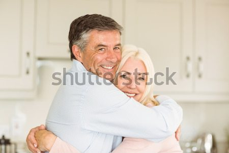 Férfi masszázs feleség boldog szépség pihen Stock fotó © wavebreak_media