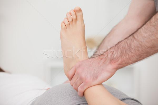 Caviglia medici piedi paziente ossa Foto d'archivio © wavebreak_media