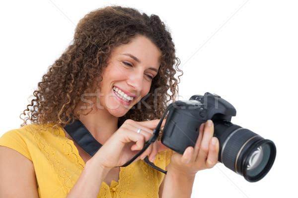 肖像 女性 カメラマン 白 技術 写真 ストックフォト © wavebreak_media