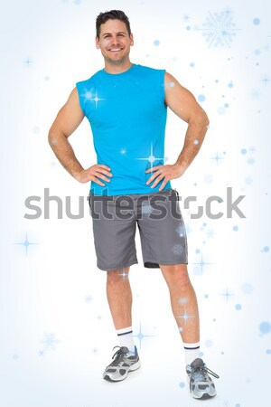 Full length portrait of a fit young man Stock photo © wavebreak_media