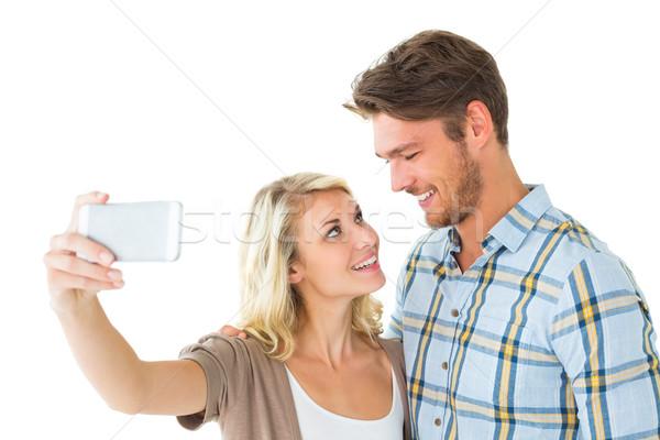 привлекательный пару вместе белый человека Сток-фото © wavebreak_media