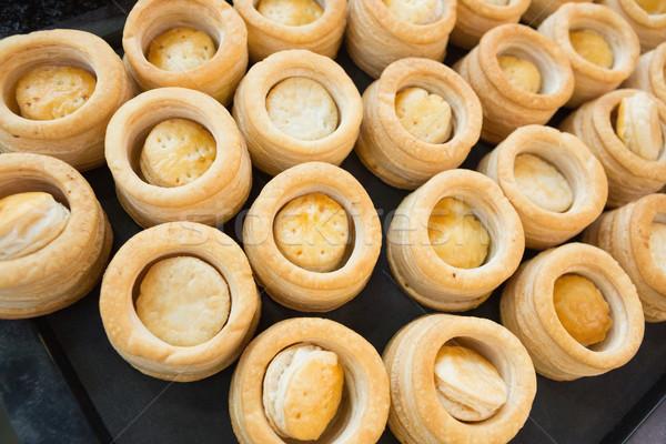 Gebäck Fall Küche Bäckerei Restaurant Stock foto © wavebreak_media