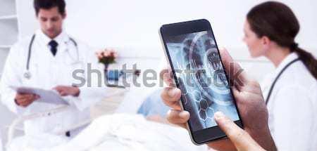 Doctors checking patients xray Stock photo © wavebreak_media