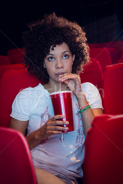 смотрят фильма питьевой соды кино Сток-фото © wavebreak_media