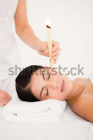 woman who practice natural medicine Stock photo © wavebreak_media
