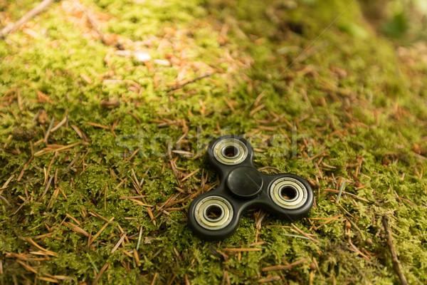 Leggen gras park achtergrond groene vloer Stockfoto © wavebreak_media