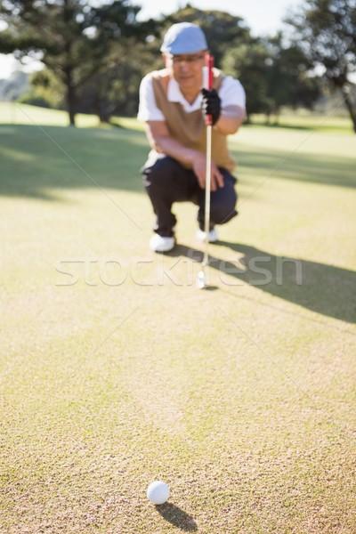 Offuscata foto campo campo da golf golf Foto d'archivio © wavebreak_media