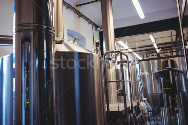 Industriali fabbrica di birra birra industria Foto d'archivio © wavebreak_media