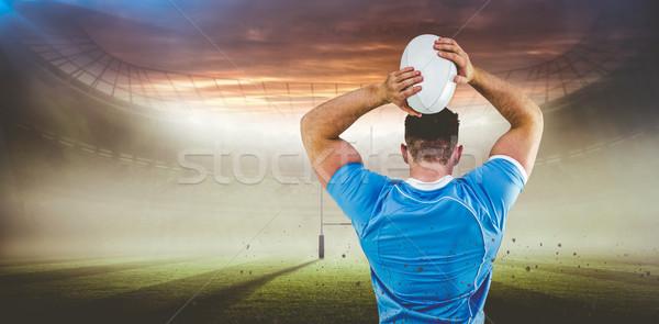 изображение регби игрок мяча Сток-фото © wavebreak_media