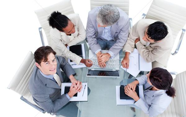 Charismatic international business people in a meeting Stock photo © wavebreak_media
