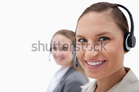 Jovem feminino branco negócio escritório empresário Foto stock © wavebreak_media