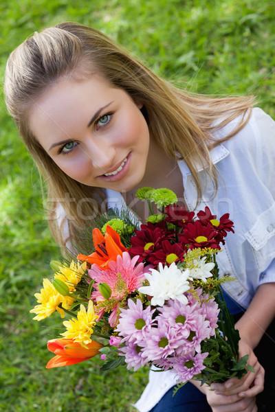 Séduisant adolescente belle Photo stock © wavebreak_media