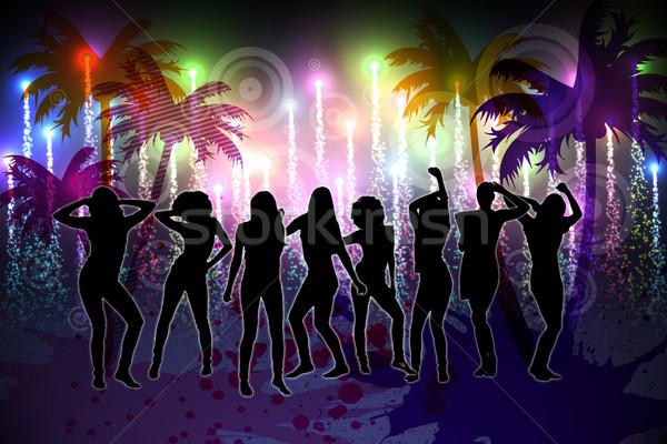 Digitally generated nightlife background Stock photo © wavebreak_media