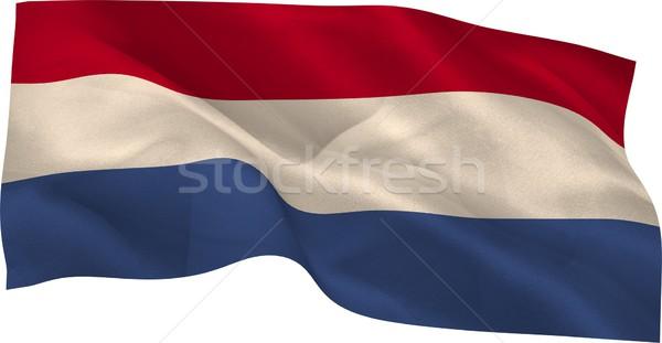 Digitalmente generato bandiera bianco Foto d'archivio © wavebreak_media