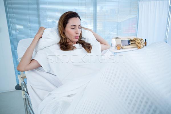 Mujer embarazada nacimiento hospital habitación mujer médicos Foto stock © wavebreak_media