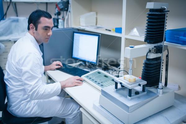 Voedsel wetenschapper technologie brood universiteit school Stockfoto © wavebreak_media