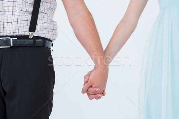 Para stałego strony biały kobiet Zdjęcia stock © wavebreak_media