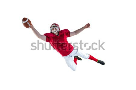 American football player scoring a touchdown Stock photo © wavebreak_media