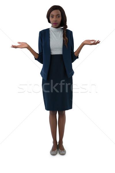 Portrait of businesswoman gesturing Stock photo © wavebreak_media