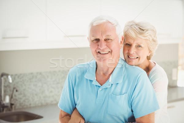 Retrato senior mulher marido em pé Foto stock © wavebreak_media