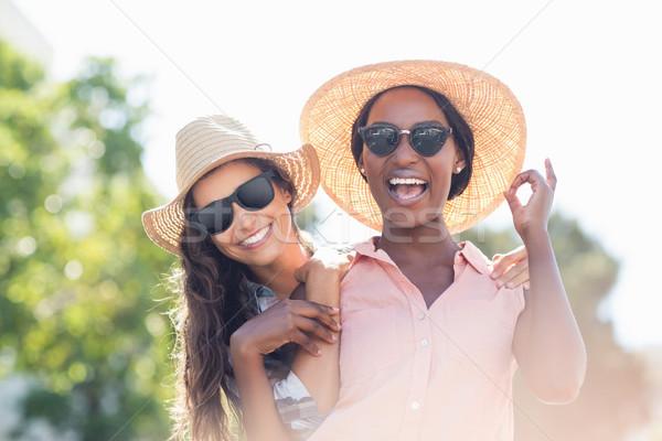 Portrait of young women smiling Stock photo © wavebreak_media