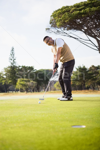 Sportsman playing golf Stock photo © wavebreak_media