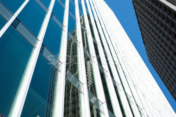 Görmek modern bina yapı gökyüzü sevmek Bina Stok fotoğraf © wavebreak_media