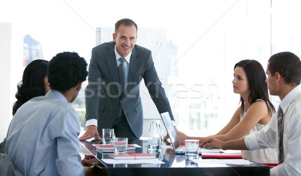 ビジネスの方々  勉強 新しい 計画 会議 ビジネス ストックフォト © wavebreak_media