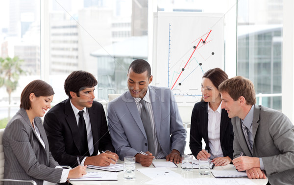 Business people showing diversity discussing a new strategy Stock photo © wavebreak_media