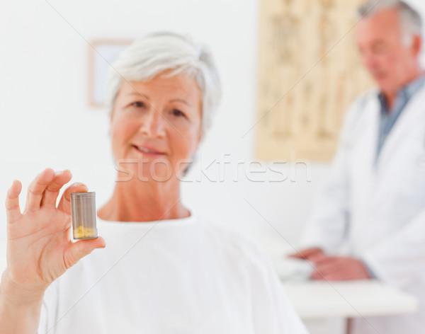 пациент таблетки больницу медицина рабочих более Сток-фото © wavebreak_media