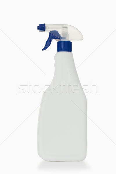 Azul spray garrafa branco água casa Foto stock © wavebreak_media