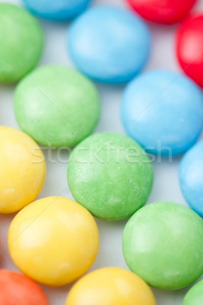 Chocolate sweetmeat multicolored against a white background Stock photo © wavebreak_media