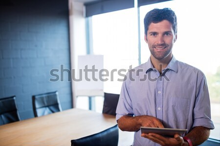 Executives shaking hands after a business meeting Stock photo © wavebreak_media