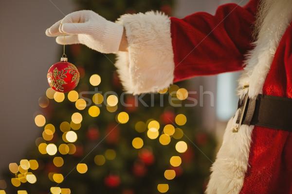 Hand snuisterij home woonkamer Stockfoto © wavebreak_media
