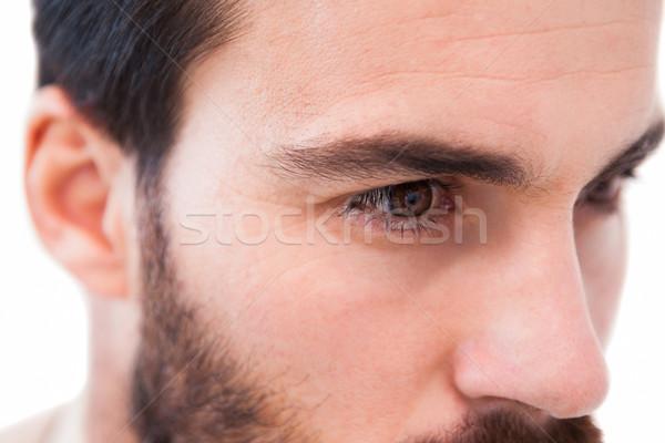 Odaklı işadamı beyaz adam kurumsal Stok fotoğraf © wavebreak_media